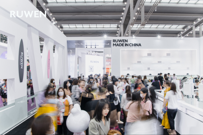 RUWEN如吻引领内衣时尚 以实力迈向全球化市场